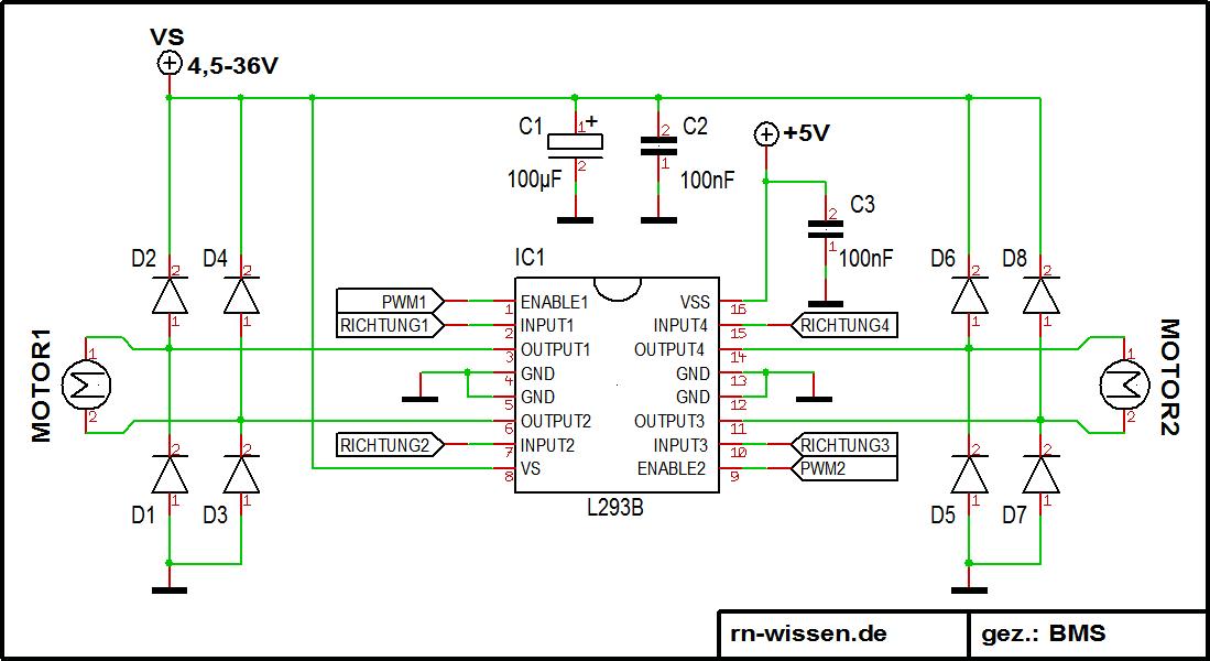 Erfreut Schaltplan Der Motorsteuerung Bilder - Elektrische ...